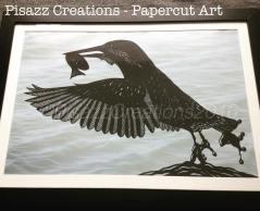 Papercut Kingfisher
